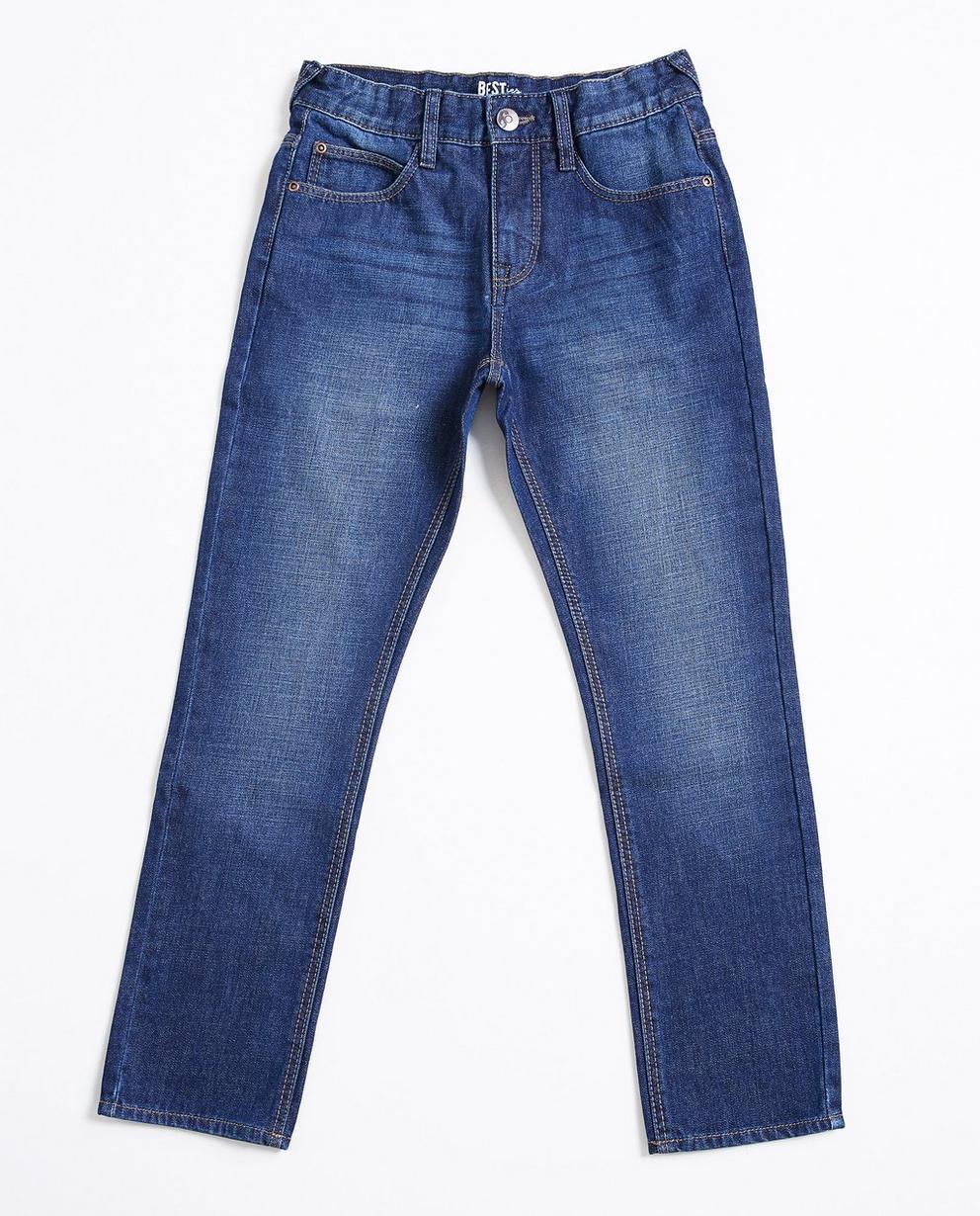 Donkerblauwe slim jeans - BESTies - Besties